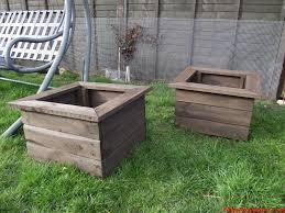 wooden garden planters whipswoodwork
