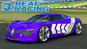 renault dezir real racing 3 tunando renault dezir concept smartphone