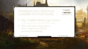 Invitational Cards Tournament Tesl Champion Series Proudly Presents A New Tournament