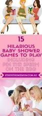 15 hilarious baby shower games to play including pin the on