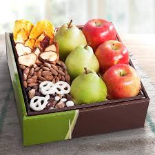 fruit gift boxes organic fruit and treats gift box rb1009 a gift inside