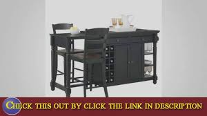 home styles grand torino kitchen island youtube