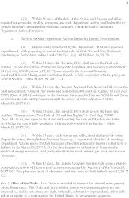 federal register report review of the department of the