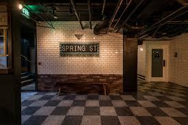 downtown la u0027s new basement bar is a world war ii era party bunker