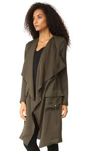 haute hippie flare trench coat shopbop