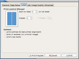 printing labels in ubuntu worldlabel blog