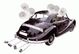 kit deco voiture mariage comment décorer la voiture des mariés decoration mariage