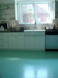 alluring cool retro kitchen floor ideas with gray white tile brown