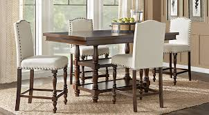7 piece counter height dining room sets charming stanton cherry 5 pc counter height dining room sets chairs