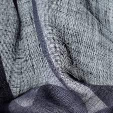 plain sheer curtain fabric linen beles dedar milano
