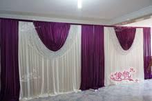 Curtain Drapes For Weddings Online Get Cheap Purple Wedding Backdrop Curtain Aliexpress Com