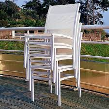 stacking outdoor dining chairs modern patio chicago by