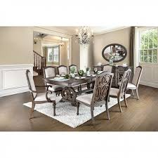arcadia 7 piece dining room set by furniture of america foa cm3150