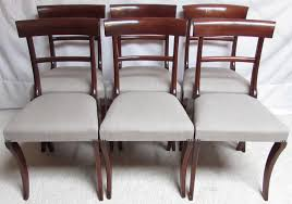 William Iv Dining Chairs Set Of 6 William Iv Dining Chairs Antiques Atlas
