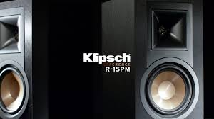 klipsch reference home theater system klipsch reference r 15pm powered monitors youtube