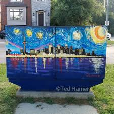starry night toronto mural cre8tive painting murals and artwork starry night toronto front ted hamer cre8tive painting