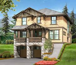 front sloping lot house plans plan 23372jd 3 bed house plan for front sloping lot craftsman