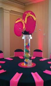 tropical theme balloon decorations by teasha green pinterest