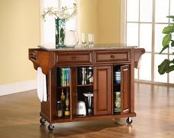 Kitchen Storage Carts Cabinets Mobile Kitchen Carts Deliver Functional Storage Solutions The