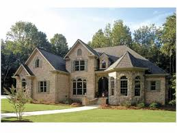 French Country House Plan With  Square Feet And  Bedroomss - French country home design