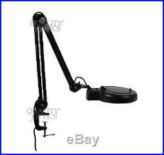 Desk Lamp With Magnifying Glass 8x Desk Table Clamp Mount Magnifier Lamp Light Magnifying Glass