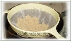 une mousseline en cuisine plats sans gluten
