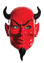 latex halloween mask kits devil accessories devil horns masks and pitchforks