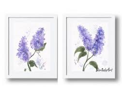 Lavender Home Decor Purple Home Decor Etsy