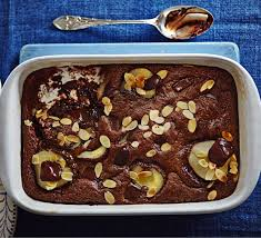 squidgy chocolate pear pudding recipe bbc good food