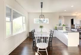 white farmhouse table black chairs chairs design ideas