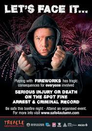 shock tactics to reduce halloween and bonfire night accidents