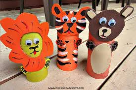 Paper Roll Crafts For Kids - 10 adorable zoo animal toilet paper roll crafts for kids