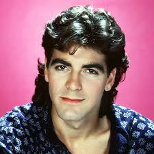 pictures of 1985 hairstyles george clooney s changing looks instyle com