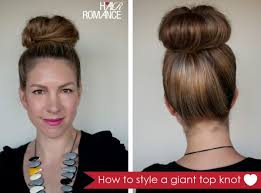 barrel curl ponytaol giant top knot to make a thick bun put in a ponytail curl thick