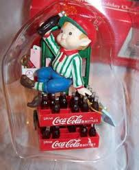 Coca Cola Christmas Ornaments - enesco coca cola christmas ornament coca cola collection