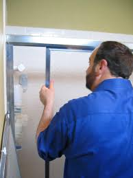 Bathroom Shower Door Replacement How To Replace A Shower Door How Tos Diy