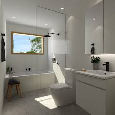 bathroom kitchen and laundry designs packages the blue space perfect canvas bathroom package