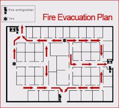 fire evacuation floor plan sandiegosigns comemergency evacuation plans