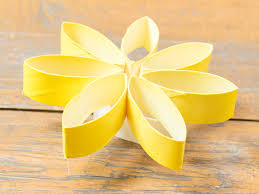 Make Flower With Paper - 3 ways to make flowers made of toilet paper wikihow