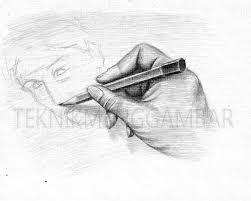 tutorial menggambar orang dengan pensil cara menggambar sketsa teknik menggambar