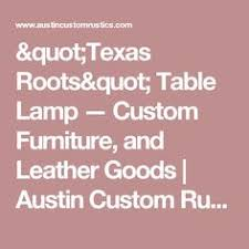 Custom Made Cedar Root Coffee Table Texas Roots Coffee Table - Custom furniture austin