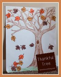 thankful tree project bits of everything