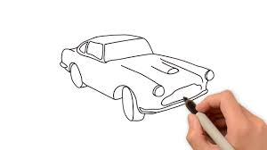 classic cars drawings easy way to draw car youtube