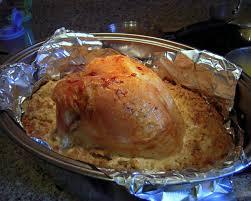 brined thanksgiving turkey plain chicken