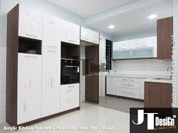 Acrylic Panels Cabinet Doors Kitchen Cabinet At Residensi Km1 View 1 Material Door Acrylic