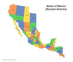 Mexican State Map by Mexico Png Transparent Png Images Pluspng
