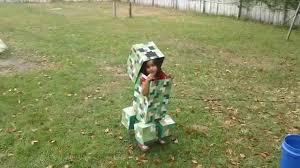 Minecraft Creeper Halloween Costume Creeper Costume Minecraft Halloween