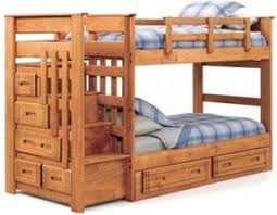 twin over twin bunk beds with stairs foter