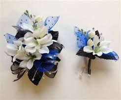 corsage and boutonniere for prom black chagne corsage boutonniere set wedding or prom