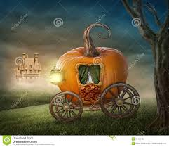 pumpkin carriage pumpkin carriage stock photo image of castle orange 31428486
